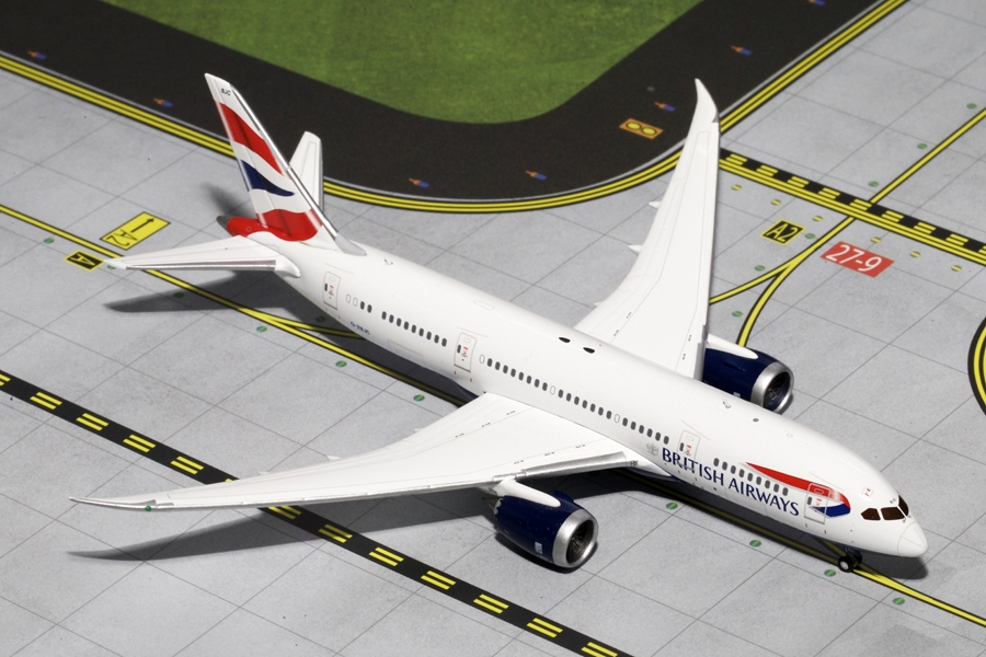 British Airways B787-8 G-ZBJC (1:400) - Preorder item, order now for future delivery
