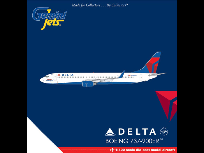 "Delta 737-900ER ""Spirit of Seattle"" N809DN (1:400)"