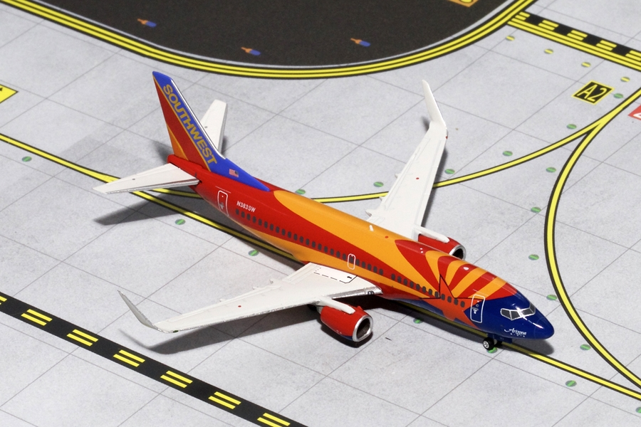 "Southwest B737-300W ""Arizon"" Canyon Blue N383SW (1:400) - Preorder item, order now for future delivery"