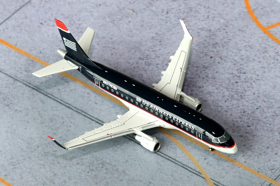 "US Airways ERJ-170 N807MD ""Old Colors"" (1:400)"