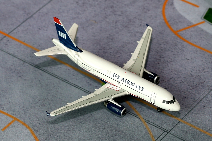 US Airways A319 N801AW (1:400)