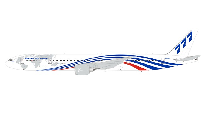 "Boeing 777-346/ER ""House Colors"" N5016R with stand  (1:200)"