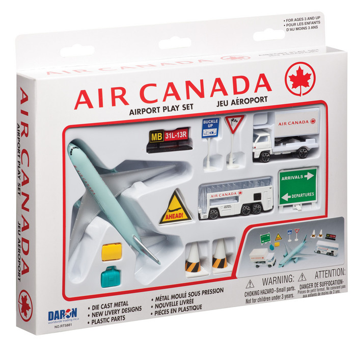 Air Canada 12 Piece Playset By Realtoy Diecast Toys Rt5881