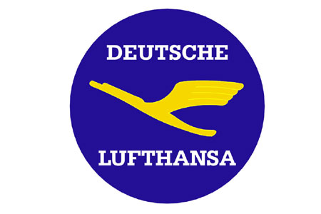 Lufthansa Retro Patch (Iron on)