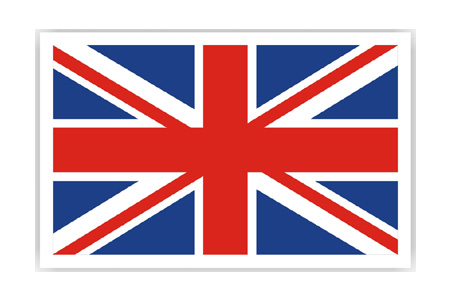 Union Jack Patch (Iron on)