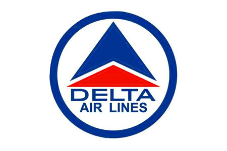 Delta Retro Logo Patch (Iron on)