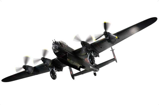 "Avro Lancaster B.Mk I RAF No.9 January 1945 ""Getting Younger Every Day"" With Tallboy Bomb (1:72)"