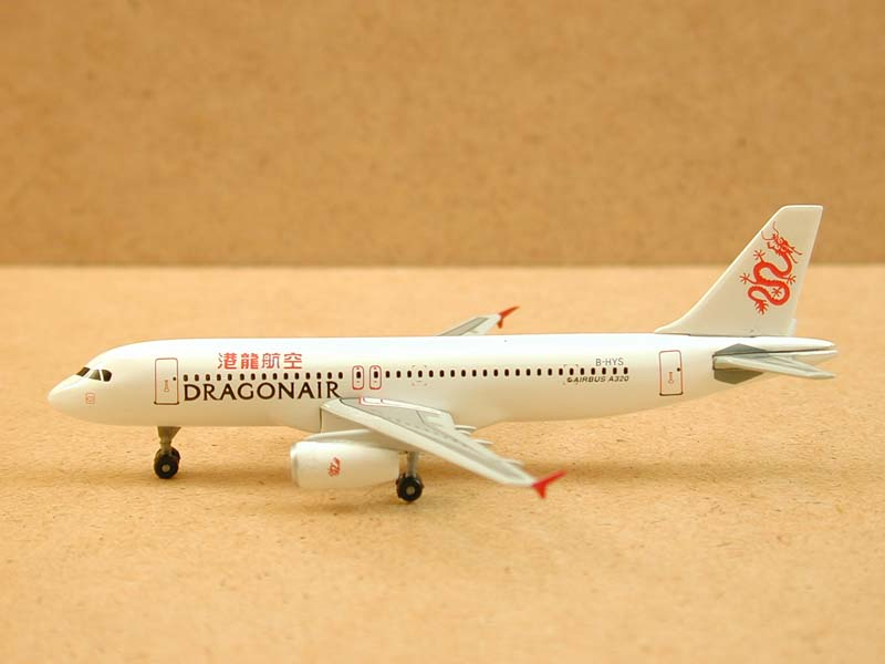DragonAir A320-231, Kai Tak Commemorative, Last Aircraft to Land at Kai Tak (1:400)