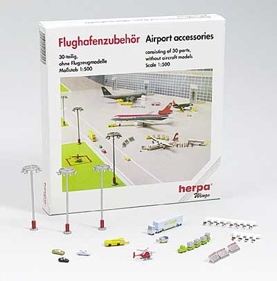 Airport Accessory Set II (1:500)