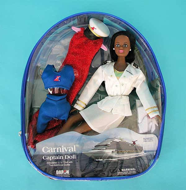 Carnival Captain Doll