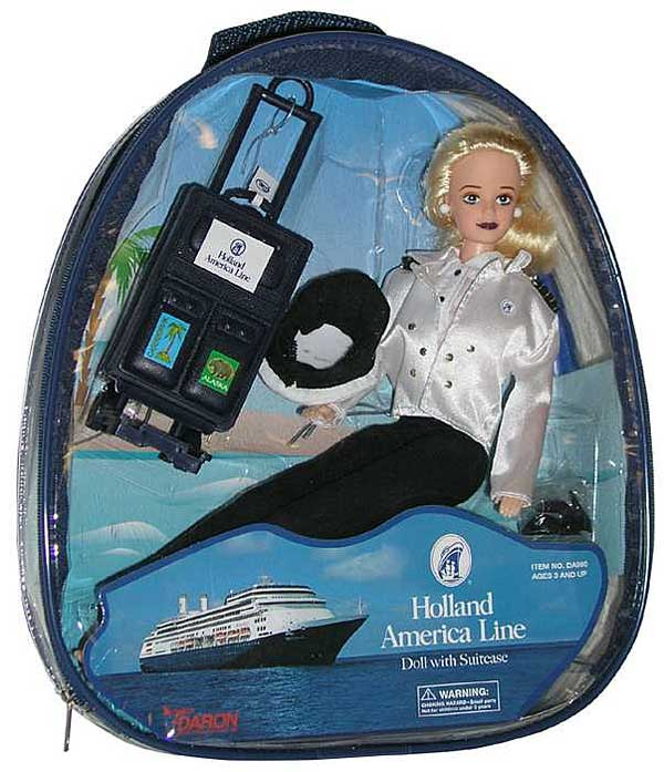 Holland America Doll - In Back Pack Sku 525814-0