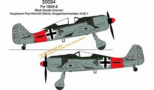 "Fw-190A-8 ""Black Double Chevron"", February 1945 (1:72)"