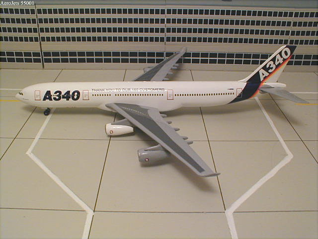 Airbus Industries A340-311 Zhuhai Commemorative Model (1:400)