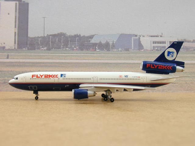 Canadian Airlines DC-10-30 MTV FLY2K Reg: C-GCPD (1:400) Limited Edition