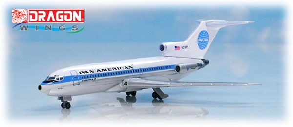 "Pan Am 727 1970s Colors ""Jet Clipper Ponce De Leon"" (1:400)"