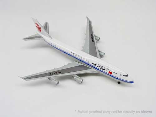 "Air China 747-400 ~ B2472 ""China Air Force One"" (1:400)"