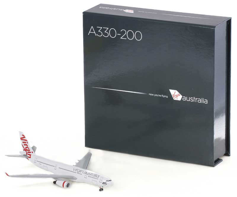 Virgin Australia A330-200 - VH-XFA, Corporate Model with Magnetic Box (1:400)