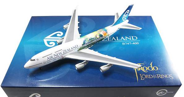 "Air New Zealand 747-400 ""Lord of the Rings - Frodo"" ZK-NBV (1:400)"
