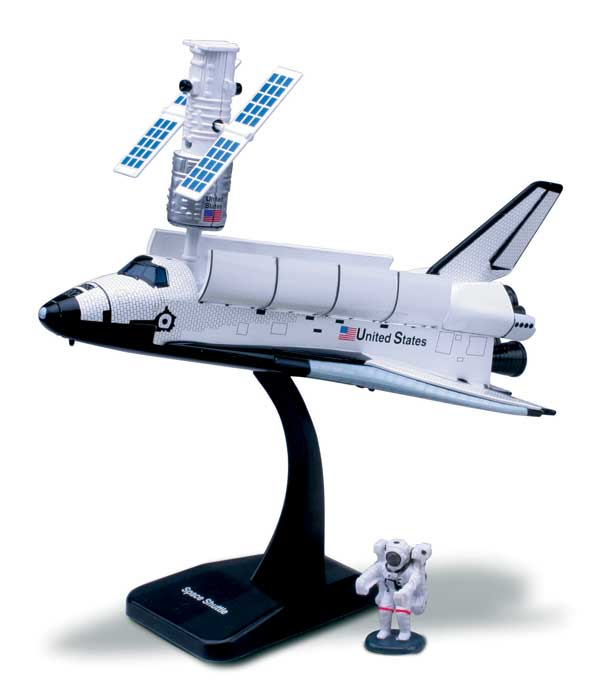 Easy Build Space Shuttle Model Kit - Easy Build Toy ...