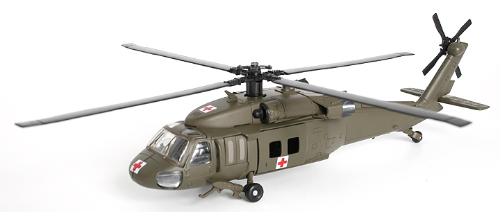 Sikorsky UH-60 Blackhawk US Army Medevac (1:60)