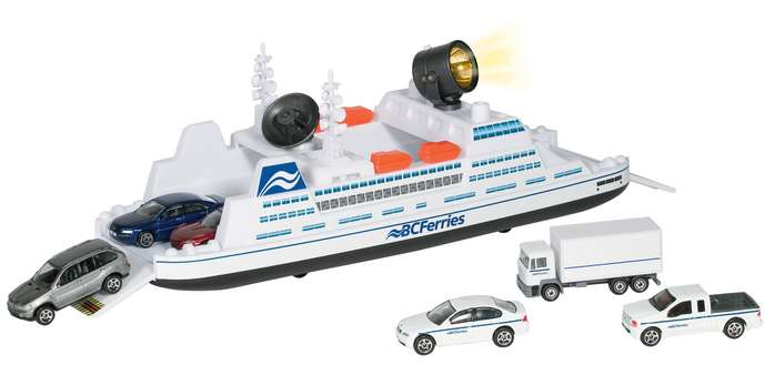 Bc Ferry W/3vehicles