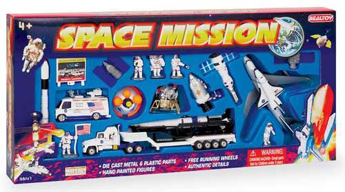 Space Shuttle 20 Piece Playset - Realtoy Diecast Toys ...