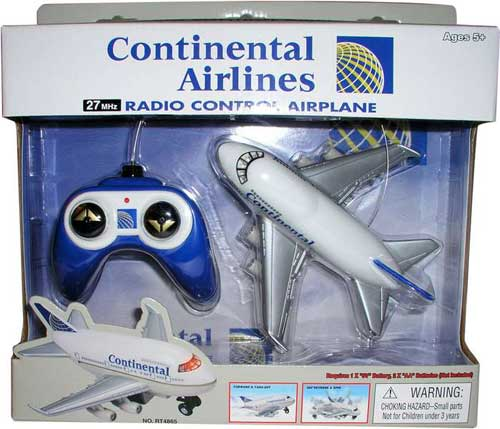 Continental Radio Control Airplane