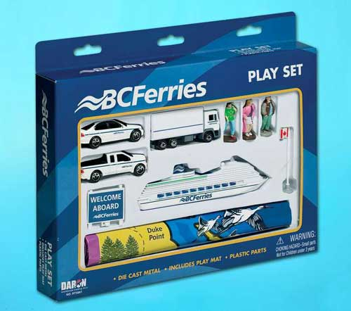 BC Ferries 10 Piece Playset