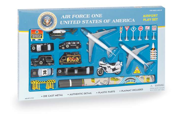 Air Force One Playset 30PC