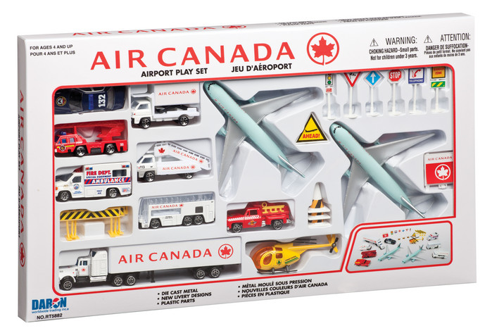 Air Canada 30 Piece Playset New Colors