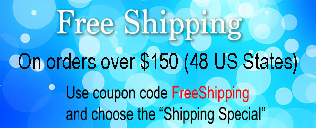 Free shipping to 48 US States
