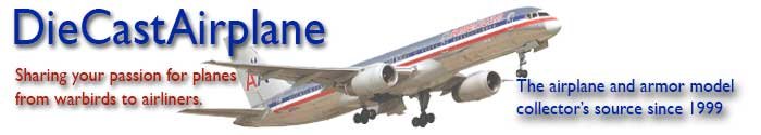 Diecast Airliners and Military Models