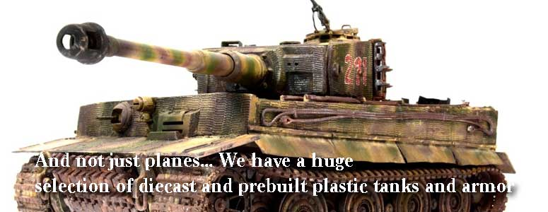 Diecast Military Armor Models, Best Selection on the internet