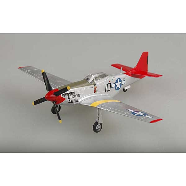 "P-51D Mustang ""Duchess Arlene"" Tuskegee Airmen Red tails (1:72), EasyModel Aircraft Models Item Number EM39201"