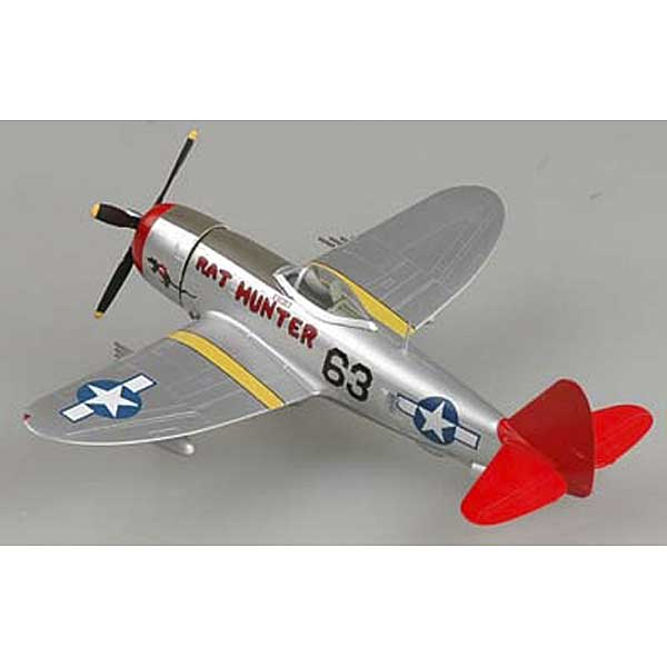 "P-47D Thunderbolt ""Rat Hunter"" Tuskegee Airmen Redtails (1:72), EasyModel Aircraft Models Item Number EM39204"