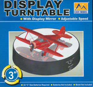 "3.3"" Diameter Turntable 8"" Dome, EasyModel Aircraft Models Item Number EM9833"