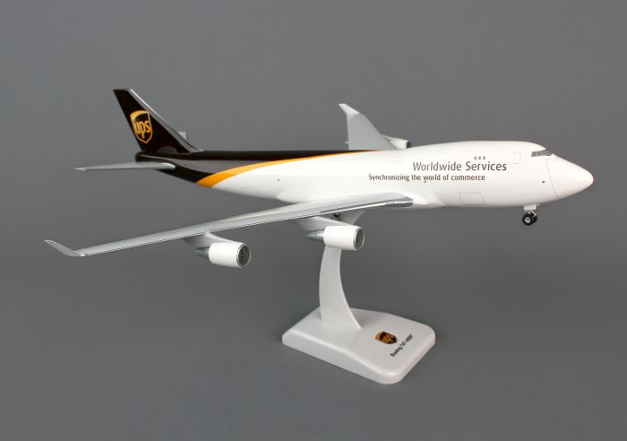 UPS 747-400F (1:200) by Hogan Wings Collectible Airliner Models item number: HG0243G