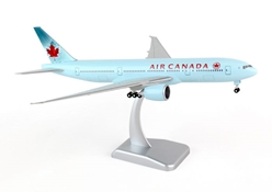 Air Canada 777-200LR (1:200) With Gear C-FIVK by Hogan Wings Collectible Airliner Models item number: HG0335G