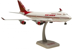Air India 747-400 (1:200) New Livery VT-ESO by Hogan Wings Collectible Airliner Models item number: HG2858G