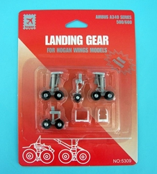 Landing Gear for Hogan A340-500/600 (1:200) by Hogan Wings Collectible Airliner Models item number: HG5309