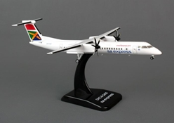 South Africa Express Dash-8-Q400 (1:200) Registration: ZS-YBY by Hogan Wings Collectible Airliner Models item number: HG5651