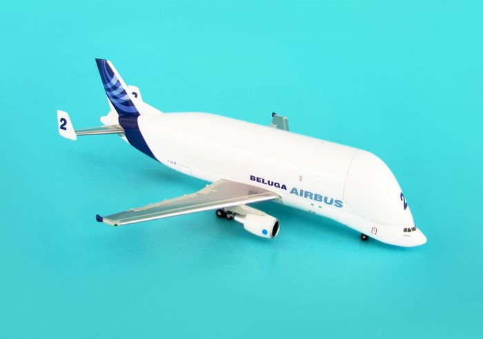 Airbus A300-600ST Beluga #2 New Livery (1:500) by Hogan Wings Collectible Airliner Models item number: HG8188