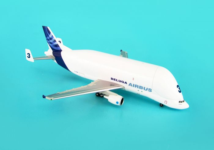 Airbus A300-600ST Beluga #3 New Livery (1:500) by Hogan Wings Collectible Airliner Models item number: HG8195