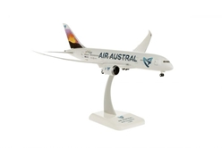 "Air Austral 787-8 ""Volcano Tail"" Ile Reunion F-OLRB (1:200) by Hogan Wings Collectible Airliner Models item number: HGAA02"