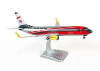 Tulfly 737-800 (1:200) with Gear, Registration: D-ATUC Red Head by Hogan Wings Collectible Airliner Models item number: HGTF02