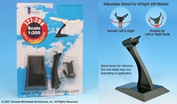 Boeing 727 Display stand (1:200), InFlight 200 Scale Diecast Airliners Item Number IFSB727
