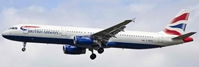 British Airways A321-200 G-MEDU Union Jack Tail (1:400)