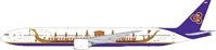 "Thai Airways B777-300ER ""Royal Barge"" HS-TKF (1:400)"