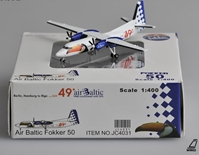 "ANA All Nippon Airways Fokker 50 ""JA8200""(1:400) by JC Wings Diecast Airliners"