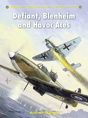 Defiant,Blemheim & Havoc Aces, Osprey Publishing Item Number OSPACE105